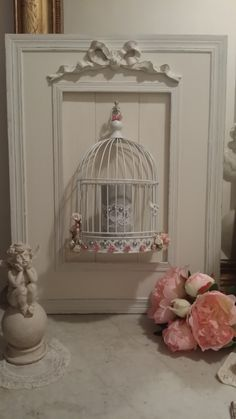 1000 id es sur le th me cadres style shabby chic sur for Bougeoir mural ancien