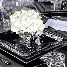 black chair covers party city high back outdoor chairs 293 best and white images slipcovers wedding bridal shower ideas
