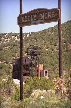 ~An old abandoned mine & ghost town in Kelly, NM~My bestie Debi Chavez & I spent many enjoyable hours here. And a couple of spooky ones.