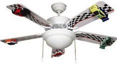 Disney pixar cars lightning mcqueen 4 blade 42 ceiling fan with whos a race car fan aloadofball Gallery