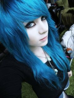 Pink Purple Hair, Hair Color Blue, Cool Hair Color, Blue Hair, Hair Colors, Coupes Emo, Pretty Hairstyles, Girl Hairstyles, Updo Hairstyle