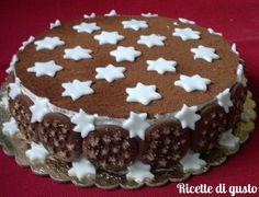 Come presentare la torta pan di stelle Nutella, Minnie Mouse Birthday Cakes, Cheesecake, Angel Cake, E 10, Biscotti, Gelato, Cake Cookies, Tiramisu