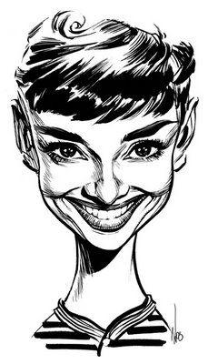 Audrey Hepburn by Chris Wahl