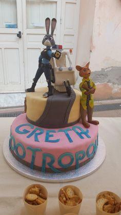 My Zootopia cake