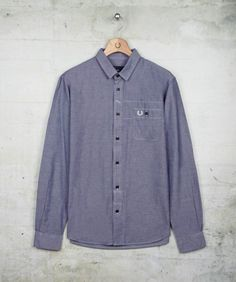 6284ddf3f5c Fred Perry - Chambray Shirt. R schmataman · Denim and Chambray