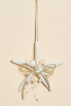 Ocean Starfish Ornaments - Set of 3