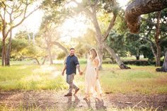 Private Estate Engagement Session // Santa Barbara, CA // CeJae Photography