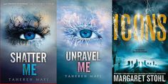 Fabulous giveaway: Win SIGNED copies of SHATTER ME and UNRAVEL ME by Tahereh Mafi and ICONS by Margaret Stohl from Page Turners and YASeriesInsiders.com