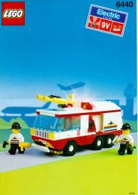 Town - Airport Fire Squad [Lego 6440]