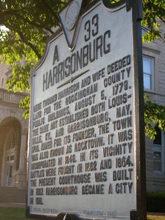 Plan your tour of Harrisonburg, VA today!
