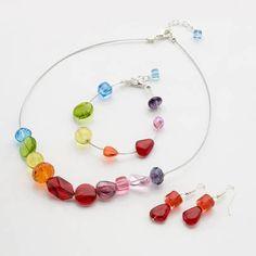 Rainbow Bead Jewellery