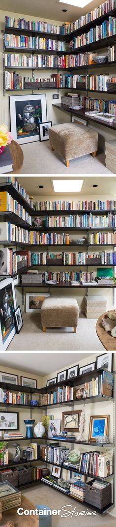 Shelf Help! Devon U0026 Maryu0027s Cool, California Library. Office U0026 Storage IdeasShelving  IdeasElfa ...