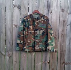 Vintage Authentic Destroyed Camouflage by PinkCheetahVintage