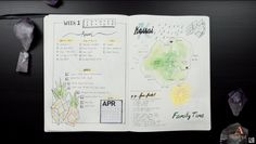 Plan with Me – April 2016 Bullet Journal – Ann Le Style Journal Inspiration, Ann, Bullet Journal, Scrapbook, How To Plan, Style, Trier, Swag, Scrapbooking