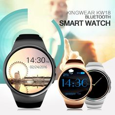 Bluetooth Smart Watch Phone Sim And TF Card Heart Rate Smartwatch  Android