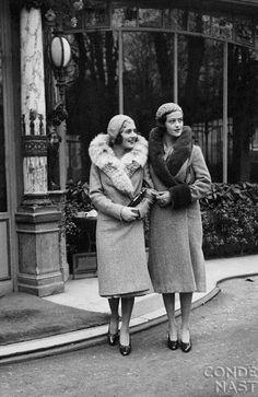 1930s Fashion in Vogue - Photo by George Hoyningen-Huene