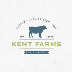 Cattle Farm Logo by All Ag Media<br> Lc Logo, Farm Name, Cattle Farming, Farm Logo, Farm Signs, Name Design, Modern Graphic Design, Logo Design Inspiration, Business Card Design