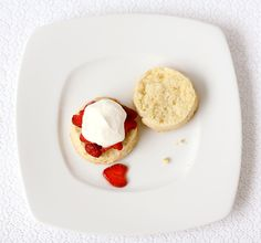 Strawberry Shortcake with Cream Biscuits | Love and Olive Oil