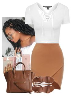 """✨"" by jemilaa ❤ liked on Polyvore featuring Topshop, Floss Gloss, Bobbi Brown Cosmetics, Betsey Johnson and Givenchy"