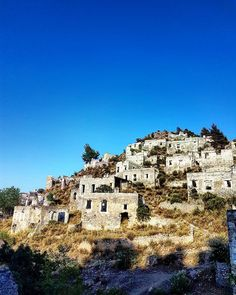 Good morning from #Kayakoy ghost town #Fethiye #Turkey