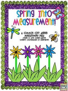 Spring Into Measurement:  A Common Core Aligned Measrement Pack! $