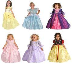 cute princess dresses for kids