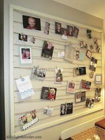 Delightful Order: DIY Photo Wall