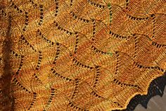 Ravelry: Waves Along the Shore pattern by The Natty Knitter