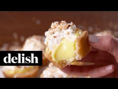 Best Coconut Cream Pie Cookie Cups - How to Make Coconut Cream Pie Cookie Cups