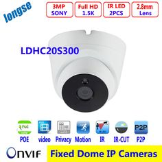 multi-language 3MP IP Dome Camera 2.8mm board lens IR Network IP Camera Support PoE and H.265 Compression