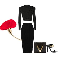 """Femme Fatale"" by morganhina on Polyvore"