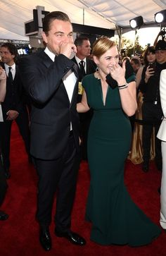Well, together, they're a match made in heaven. | Oh My God, Look At How Cute Leonardo DiCaprio And Kate Winslet Are