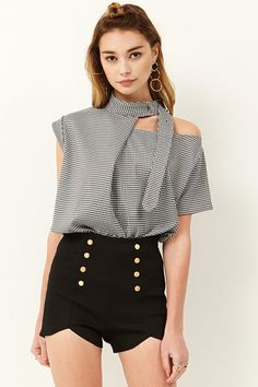 Cate Choker Belt Top Discover the latest fashion trends online at storets.com