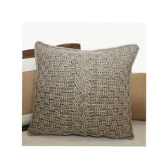 Ravelry: Aran Accent Pillow pattern by Kim Miller