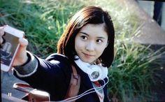 ストレート結構好き。松岡茉優