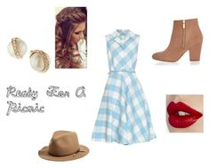 """""""Ready For A Picnic"""" by paisleypuppy ❤ liked on Polyvore featuring Oscar de la Renta, River Island, Kate Spade, rag & bone, women's clothing, women, female, woman, misses and juniors"""