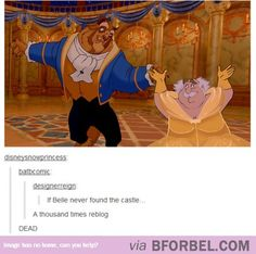 An Alternate Ending To Beauty And The Beast…
