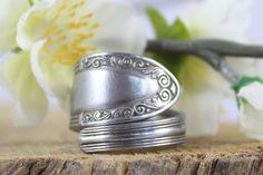 Ringe - Ring aus Silberbesteck / Fingerring Antikschmuck - ein Designerstück von…