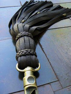 Luxury Deerskin Leather Fringe King's Tassel by SexySkinsLeather, $127.50