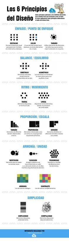 Los 6 principios del diseño.