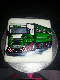 Lorry bday cake