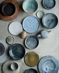 Noma auction: furniture from the star restaurant - Ceramic dishes from Aage and Kasper Würtz. (Photo: Ditte Isager / Courtesy of Wright) - Ceramic Tableware, Ceramic Pottery, Ceramic Art, Kitchenware, Slab Pottery, Thrown Pottery, Ceramic Bowls, Assiette Design, Noma Restaurant