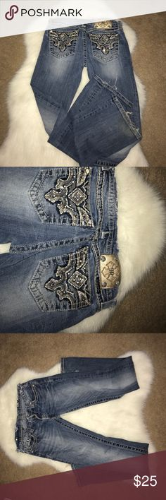 Gently used Miss Me jeans Gently used Miss Me jeans Miss Me Jeans Boot Cut