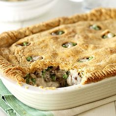 Leftover Turkey Recipe: Unforgettable Pie