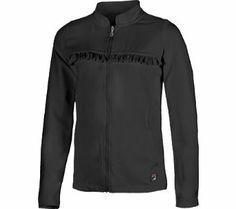 Girl's Fila Ruffle Tennis Athletic Jacket BLACK MED REG Fila. $49.93
