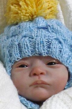 life like doll created by baby banter member Judy Gray
