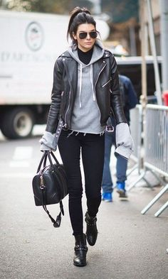 Look Kendall Jenner: Ankle boot