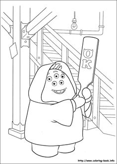 kappa mike coloring pages - photo#38
