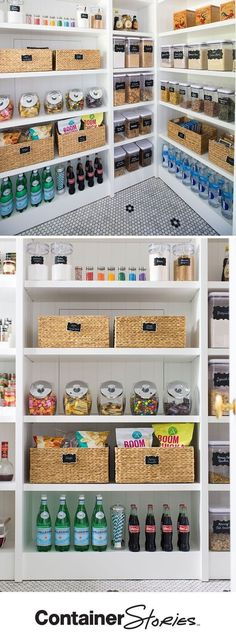 5 Steps to An Organized Pantry with Neat Method and The Container Store Pretty neat! See how our friends at Neat Method organized a pantry using some Kitchen Organization Pantry, Home Organisation, Kitchen Pantry, Organizing Ideas, Kitchen Storage, Organized Pantry, Pantry Ideas, Storage Organization, Storage Ideas