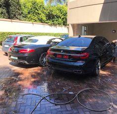 V12 Power Combo  @mercedesamg S65 Cabriolet or @bmw M760Li xDrive for you?  Photo via @taariq_ebrahim  #ExoticSpotSA #Zero2Turbo #SouthAfrica #BMW #M760Li #xDrive #MercedesAMG #S65 #Cabriolet